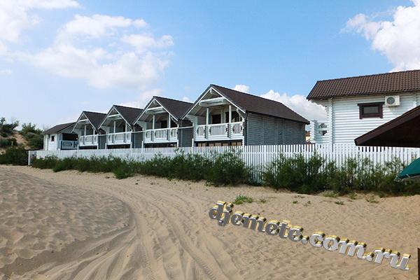 """Джемете отель """"Белый пляж"""""""
